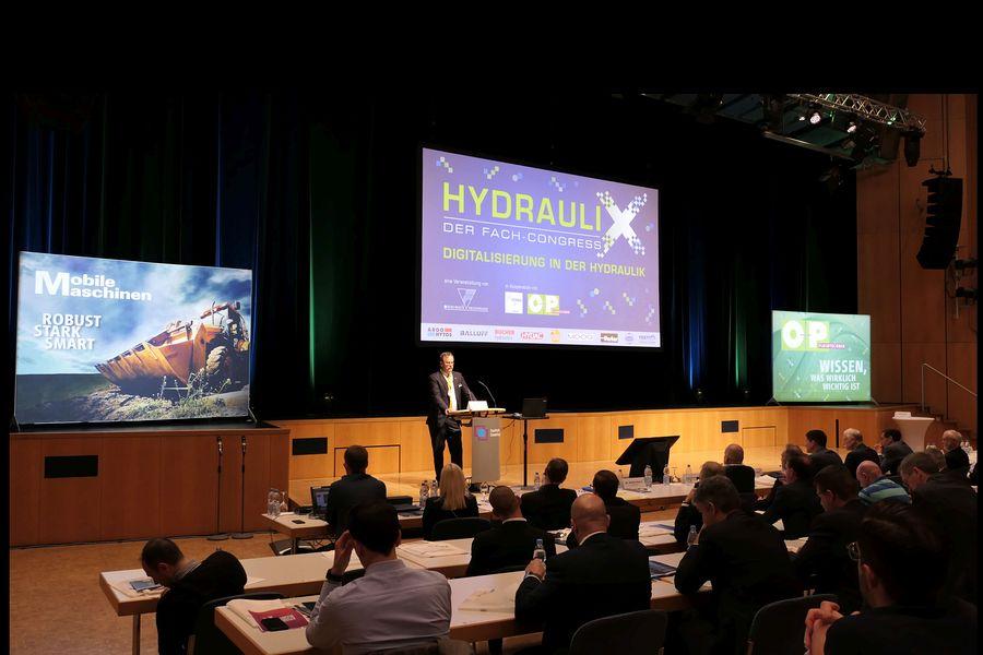 1. Fach-Congress HydrauliX –  erfolgreiche Auftaktveranstaltung in Sindelfingen