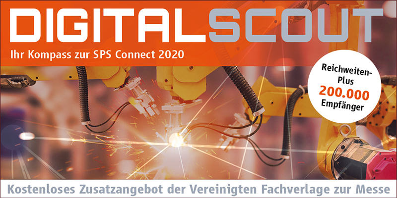DIGITAL SCOUT – Ihr Kompass zur SPS Connect 2020