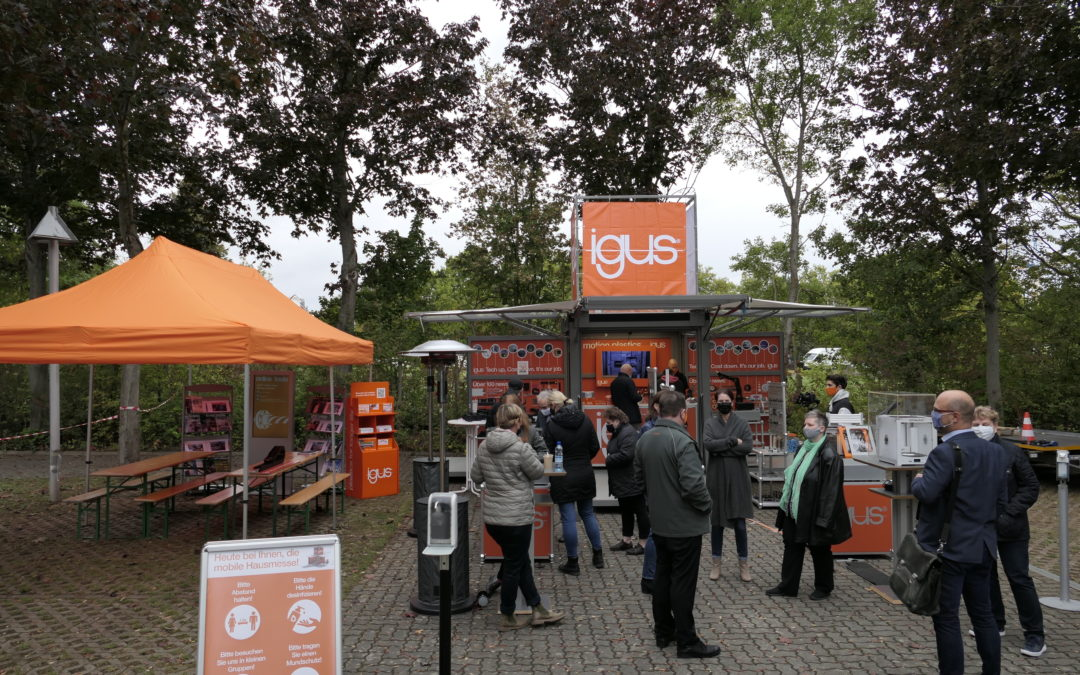 igus mobile Presse-Roadshow in Mainz